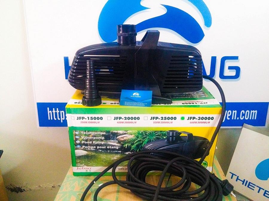 Bơm hồ koi Jebao JFP30000 660W