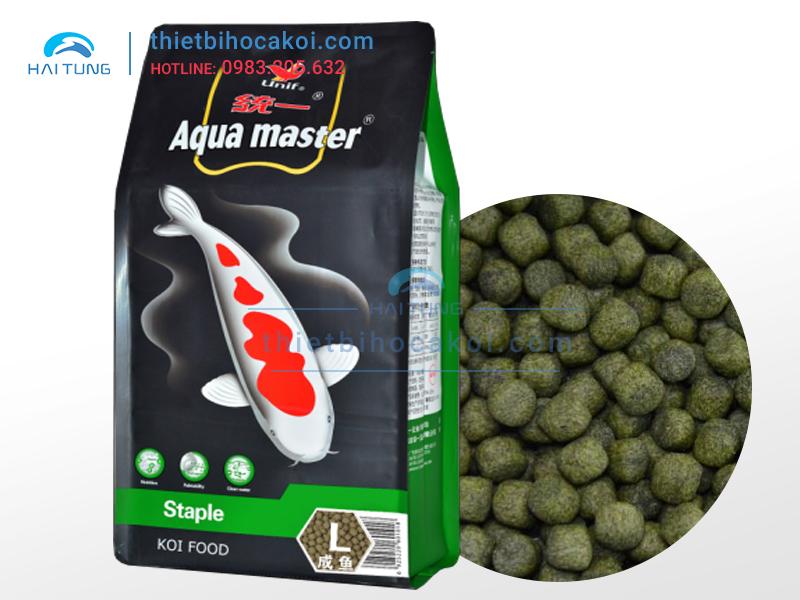 Thức Ăn Cá Koi Cân Bằng Aquamaster Staple Size L 5kg