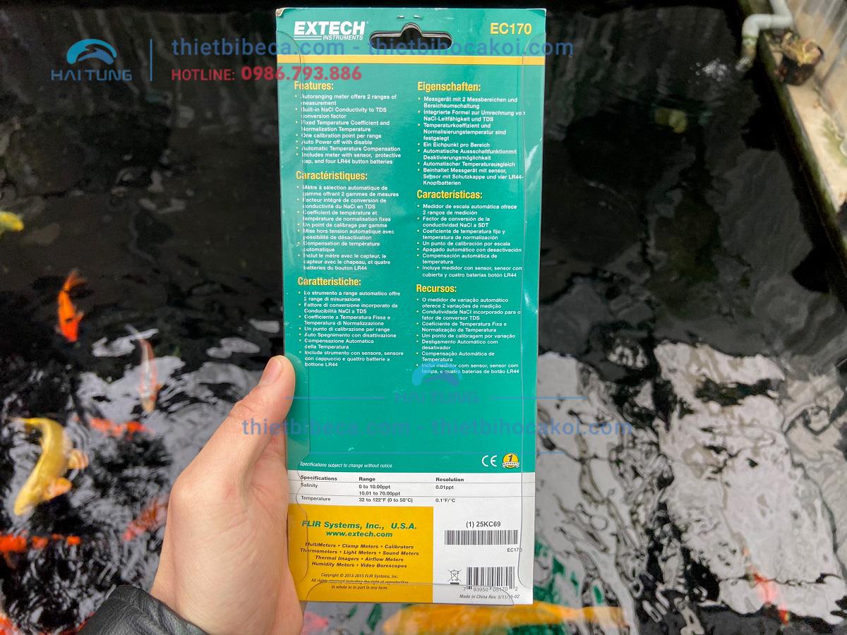 Bút đo mặn và nhiệt độ Extech