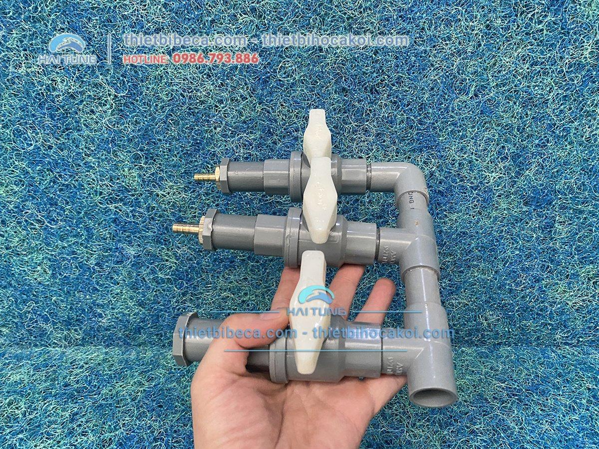 Chia sủi PVC 3 đầu
