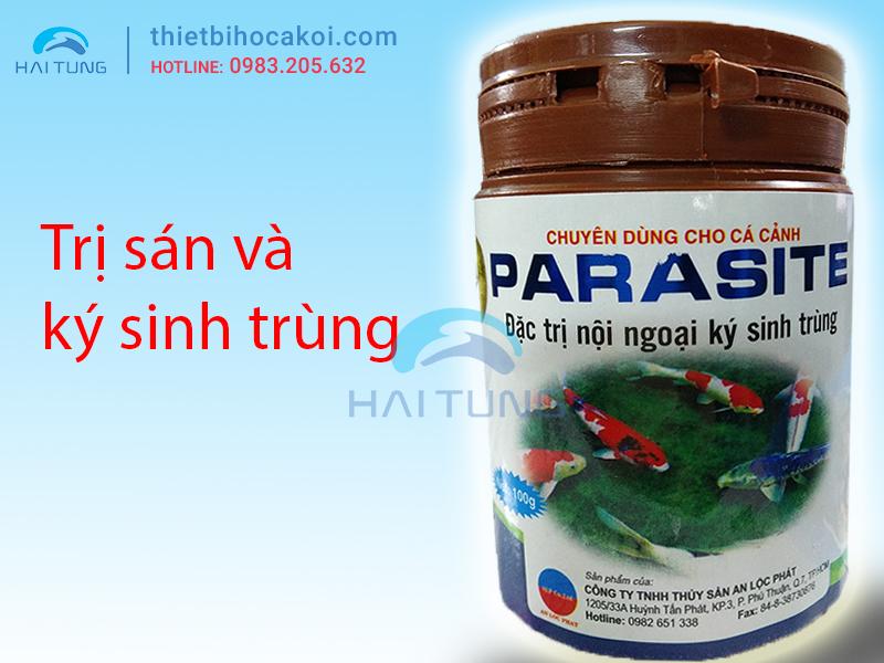 Đặc trị nội ngoại ký sinh trùng cho cá koi Parasite