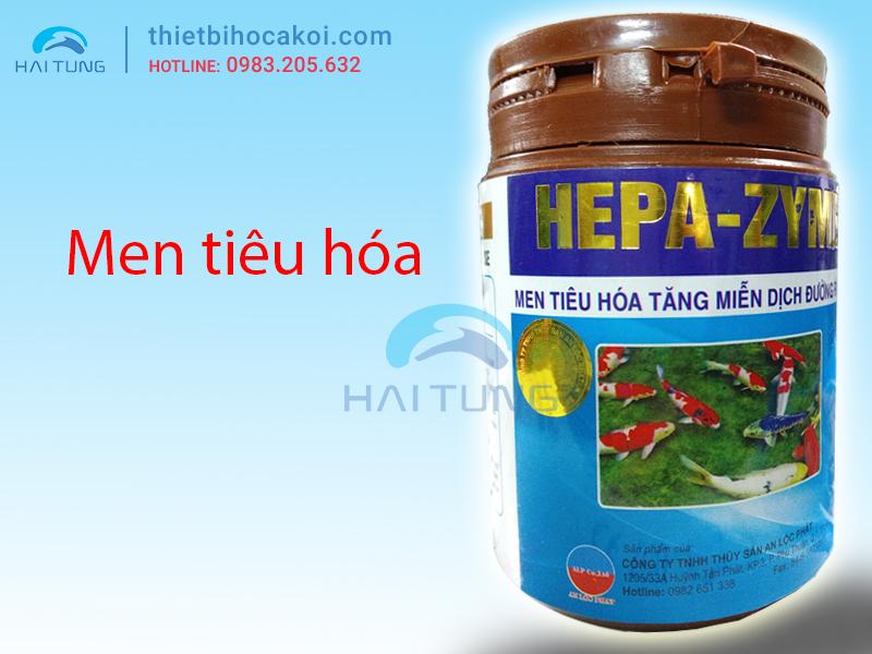 Men tiêu hóa cho cá koi HEPA-ZYME 100g