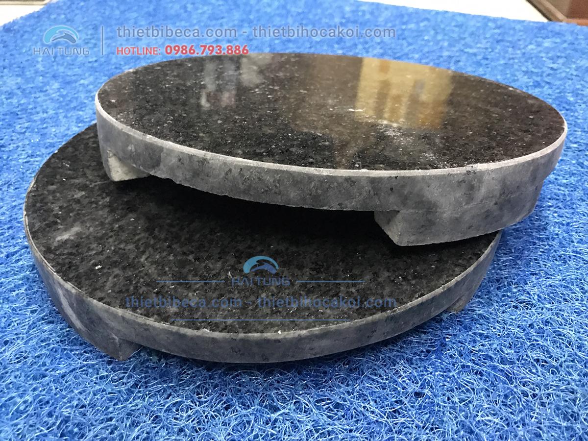 Nắp Thoát Đáy Hồ Koi Đá Granite