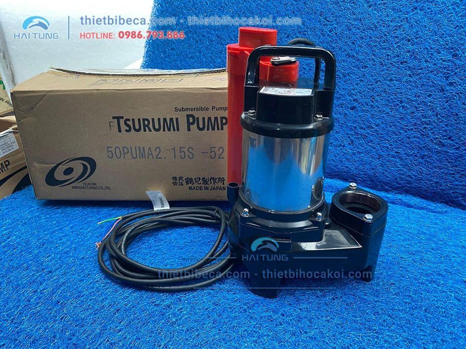 Bơm hồ Koi Tsurumi 50W 7800l/h