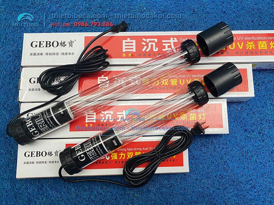 Đèn UV diệt tảo hồ koi Gebo 75w