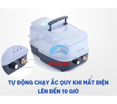 Máy Sục Khí Tích Điện Hồ Koi Resun ACD 80