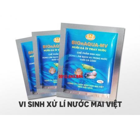 Men Vi Sinh Sử Lí Nước Mai Việt