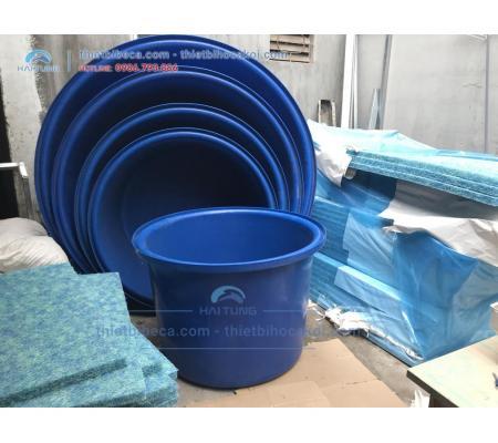 Tank Dưỡng Cá - Thùng Nhựa nuôi cá 750L
