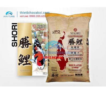 Thức ăn cá Koi JPD Shori 15kg