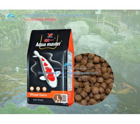 Thức Ăn Cá Koi Mùa Đông Aquamaster Wheat Germ Size L 5kg