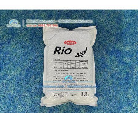 Thức Ăn Cá Koi Tăng Trọng Rio Size S 4kg