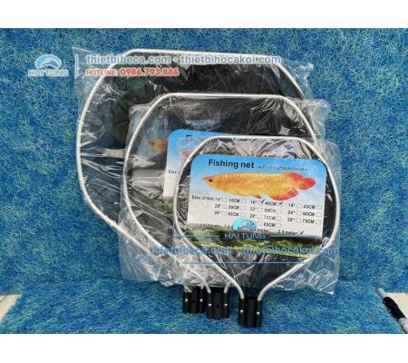 Vợt Cá Koi oval 70cm 28'' cán 2.5m